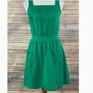 0df8b04435d 🆕Plus Kelly green cotton sundress with straps 1X